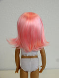 Beth Wig in Light Pink - for Little Darling dolls