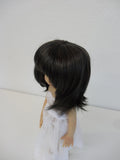 Beth Wig in Nearly Black - for Little Darling dolls