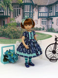 Bird Cage - dress, tights & shoes for Little Darling Doll or other 33cm doll