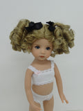 Birdie Wig in Blonde - for Little Darling dolls