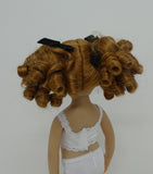 Birdie Wig in Light Ginger - for Little Darling dolls
