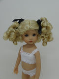 Birdie Wig in Pale Blonde - for Little Darling dolls