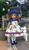 Bird's Nest - dress, hat, tights & shoes for Little Darling Doll