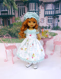 Bird's Song - dress, hat, socks & shoes for Little Darling Doll or 33cm BJD