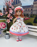Bitty Red Riding Hood - dress, hat, socks & shoes for Little Darling Doll or 33cm BJD