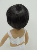 Bubbles Wig in Nearly Black - for Little Darling dolls