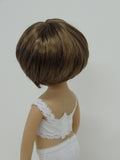 Bubbles Wig in Two Tone Brown - for Little Darling dolls