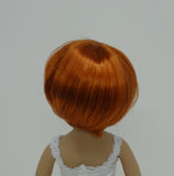 Bubbles Wig in Carrot Red - for Little Darling dolls