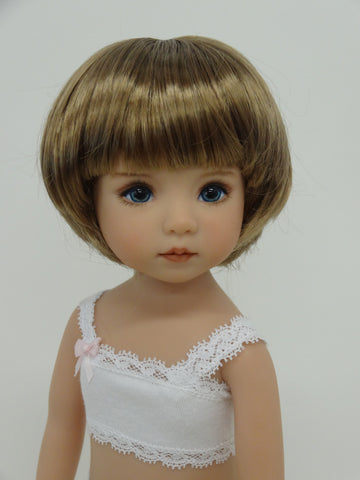 Bubbles Wig in Ginger Brown - for Little Darling dolls