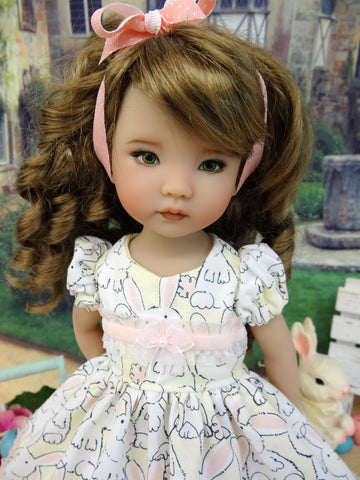 Bunny Foo Foo - dress, socks & shoes for Little Darling Doll or 33cm BJD