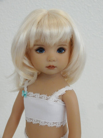 Camille Wig in Bleach Blonde - for Little Darling dolls