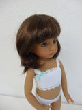 Camille Wig in Brown Black - for Little Darling dolls