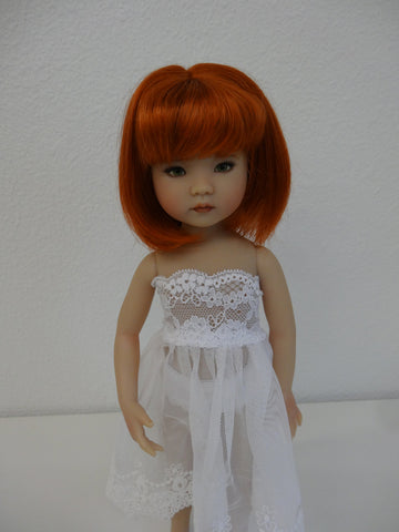 Camille Wig in Carrot Red - for Little Darling dolls