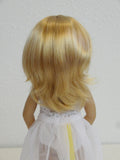 Camille Wig in Golden Strawberry Blonde - for Little Darling dolls