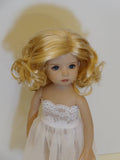 Charlene Wig in Light Golden Blonde - for Little Darling dolls