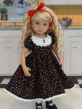 Cherry Pie - dress, tights & shoes for Little Darling Doll