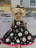 Cherry Tart - dress & sandals for Little Darling Doll