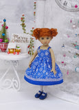Chill Out - dress, tights & shoes for Little Darling Doll or 33cm BJD