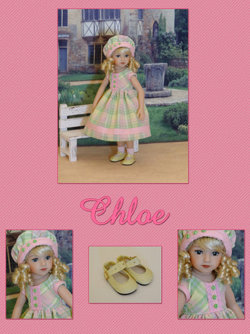 "Chloe - custom 13"" Mini Pal doll w/ wardrobe"