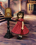 Cinnamon Plaid - dress, socks & shoes for Little Darling Doll or other 33cm BJD
