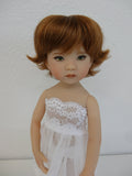 Claire wig in Auburn - for Little Darling dolls