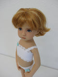 Claire wig in Light Ginger Golden Blonde - for Little Darling dolls