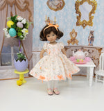 Cottontail - dress, tights & shoes for Little Darling Doll