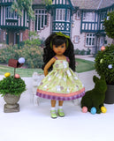 Countryside Bunny - dress, socks & shoes for Little Darling Doll or 33cm BJD