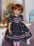 Cupid - dress, tights & shoes for Little Darling Doll or 33cm BJD