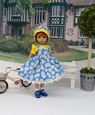 Daisy Dear - jumper, romper, hat, socks & shoes for Little Darling Doll or 33cm BJD