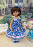 Dance of Dragonflies - dress, socks & shoes for Little Darling Doll or 33cm BJD