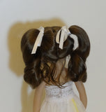 Darling wig in Brown Black - for Little Darling dolls