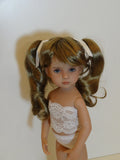 Darling wig in Ginger Brown - for Little Darling dolls