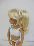 Darling wig in Honey Blonde - for Little Darling dolls