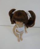 Darling wig in Chestnut - for Little Darling dolls