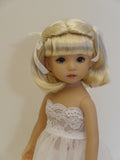 Dimples Wig in Honey Blonde - for Little Darling dolls