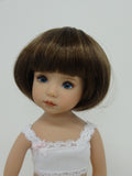 Doris Wig in Light Brown - for Little Darling dolls