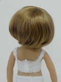Doris Wig in Light Strawberry Blonde - for Little Darling dolls