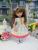Early Spring - dress, socks & shoes for Little Darling Doll or 33cm BJD