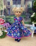 Evening Bouquet - dress, tights & shoes for Little Darling Doll or other 33cm BJD
