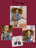 "Evie - custom 13"" Mini Pal doll w/ wardrobe"
