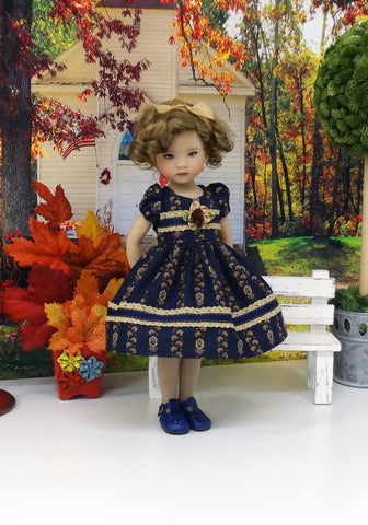 Fading Light - dress, tights & shoes for Little Darling Doll or 33cm BJD