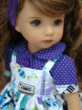Favorite Song - dress, blouse & shoes for Little Darling Doll or 33cm BJD