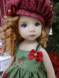 Festive Ornaments - dress, tights & shoes for Little Darling Doll or 33cm BJD