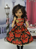 Filigree Valentine - dress, tights & shoes for Little Darling Doll