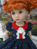 Flag for Freedom - dress, socks & shoes for Little Darling Doll or 33cm BJD