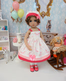 Flying Unicorn - dress, hat, socks & shoes for Little Darling Doll or 33cm BJD