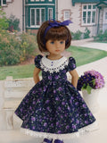 Garden Beauty - dress, tights & shoes for Little Darling Doll