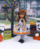 Ghoulish - dress, tights & shoes for Little Darling Doll or 33cm BJD