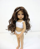 Ginger in Brown Black & Honey Blonde - for Little Darling dolls